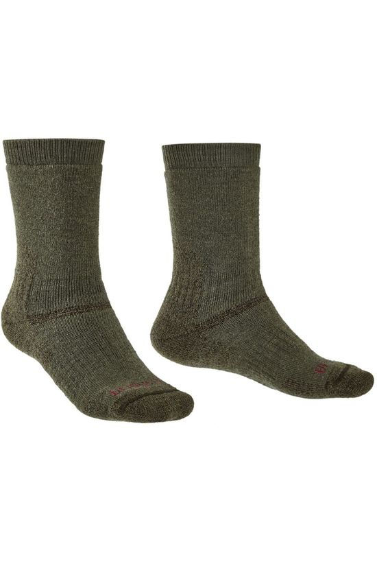 Bridgedale Sock Explorer Merino Endurance Heavyweight dark green
