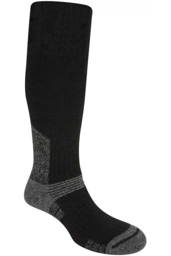 Bridgedale Chaussette Explorer Merino Endurance Heavyweight Knee Noir