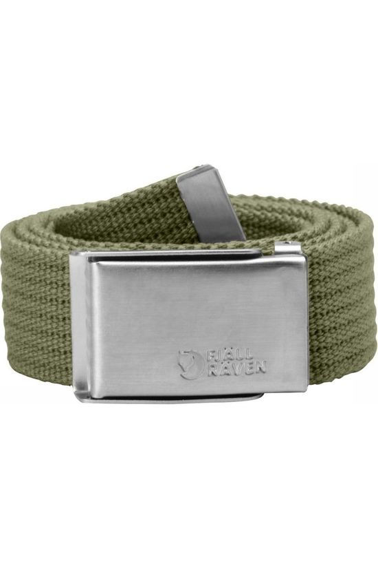 Fjällräven Belt Merano Canvas green