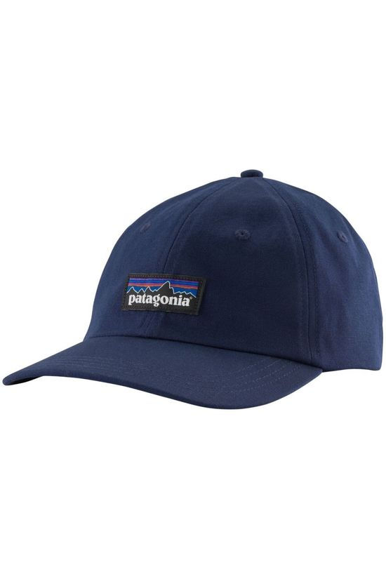 Patagonia Pet P-6 Label Trad Cap Marineblauw
