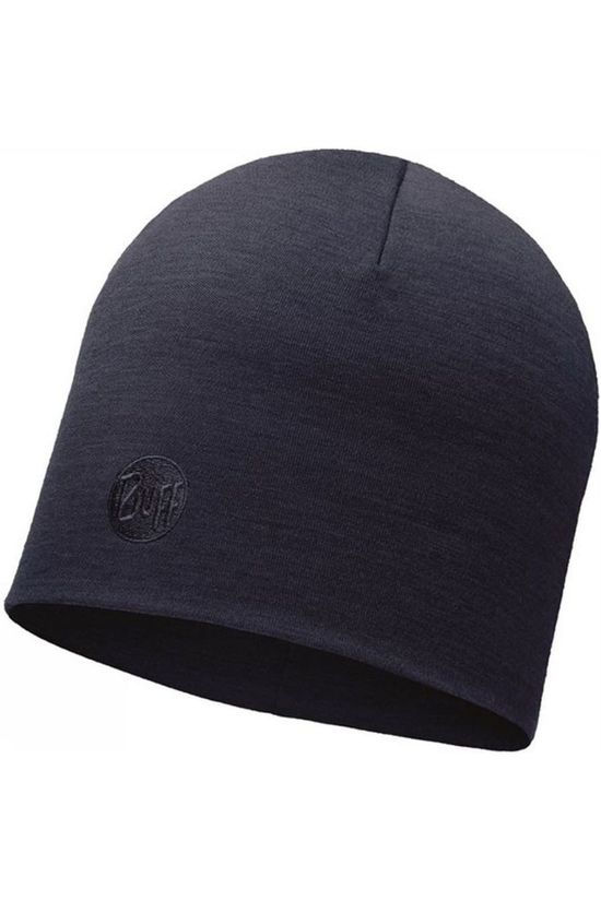 Buff Bonnet Heavyweight Merino Wool dark blue