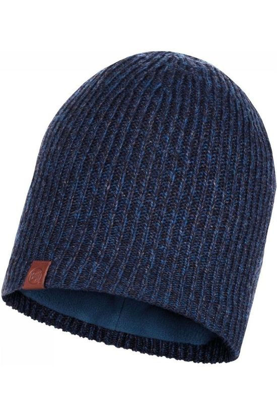 Buff Muts Lifestyle Knitted Hat Lyne Donkerblauw