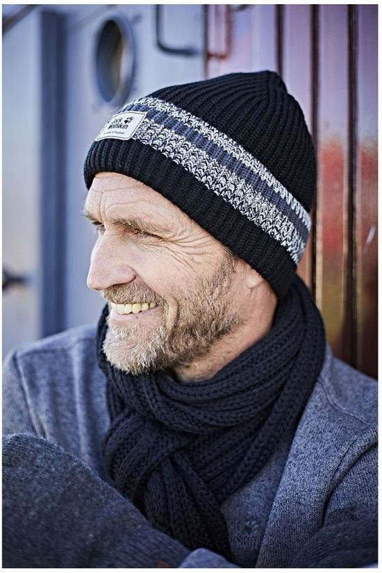 Jack Wolfskin Bonnet Knit black