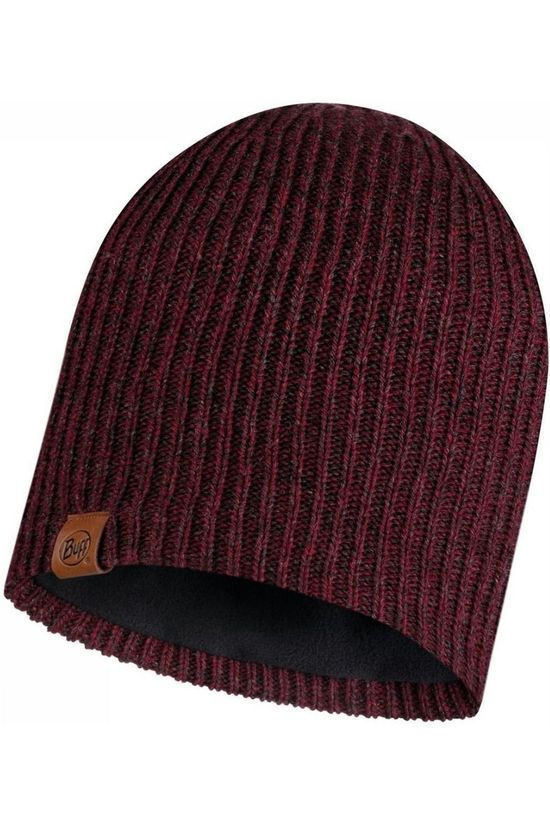 Buff Bonnet Lifestyle Knitted Hat Lyne Maroon dark red