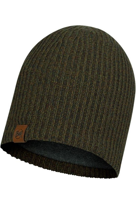 Buff Muts Lifestyle Knitted Hat Lyne Bark Donkerkaki