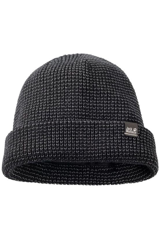 Jack Wolfskin Bonnet Night Hawk Noir