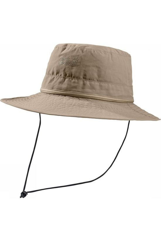 Jack Wolfskin Hat Lakeside Mosquito Sand Brown
