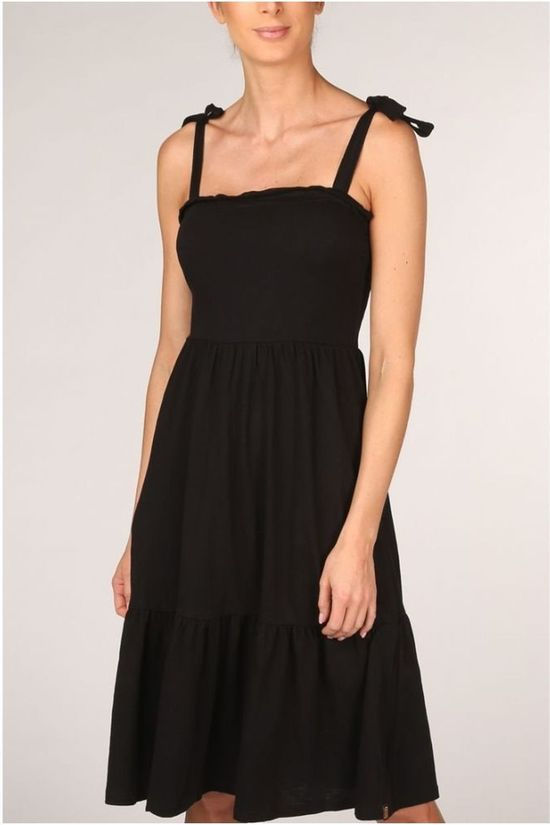 Banana Moon Dress Lou Peachy black