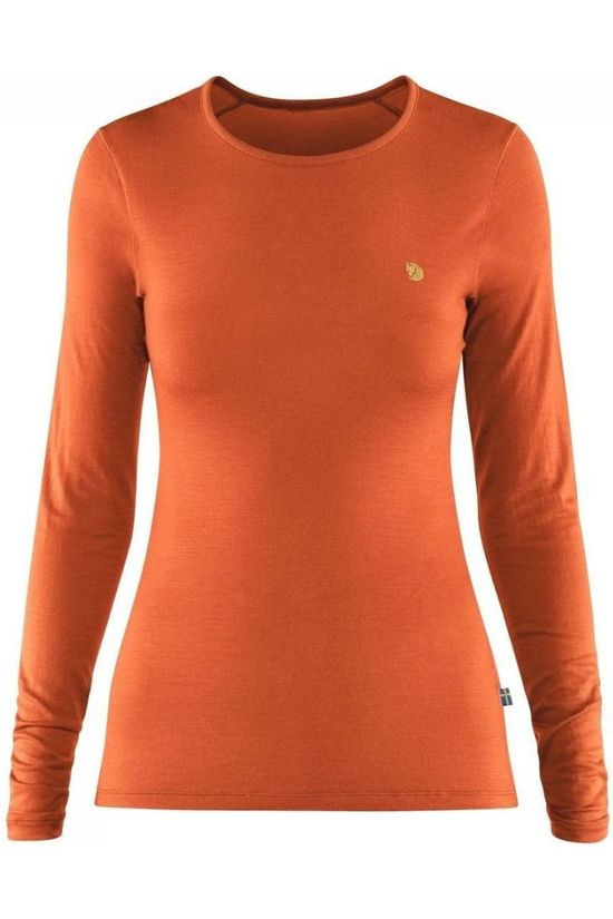 Fjällräven UNDERWEAR FR BERGTAGEN THINWOOL orange