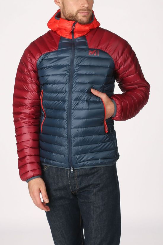 Millet Down Jacket K Synthx D Petrol/Red