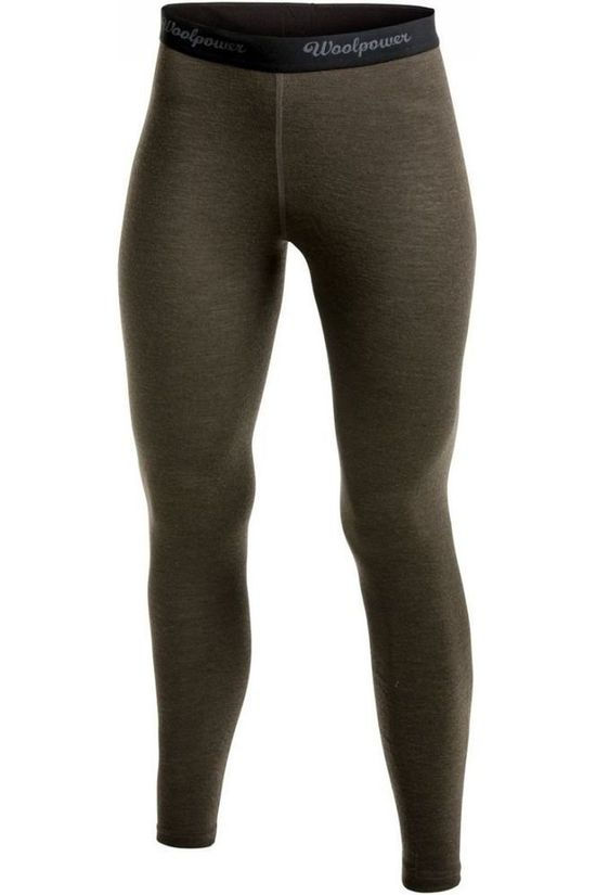 Woolpower Underwear Long John Women Lite (baselayer) dark green