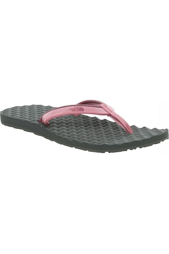 The North Face Slipper Base Camp Mini II Lichtroze/Donkergrijs