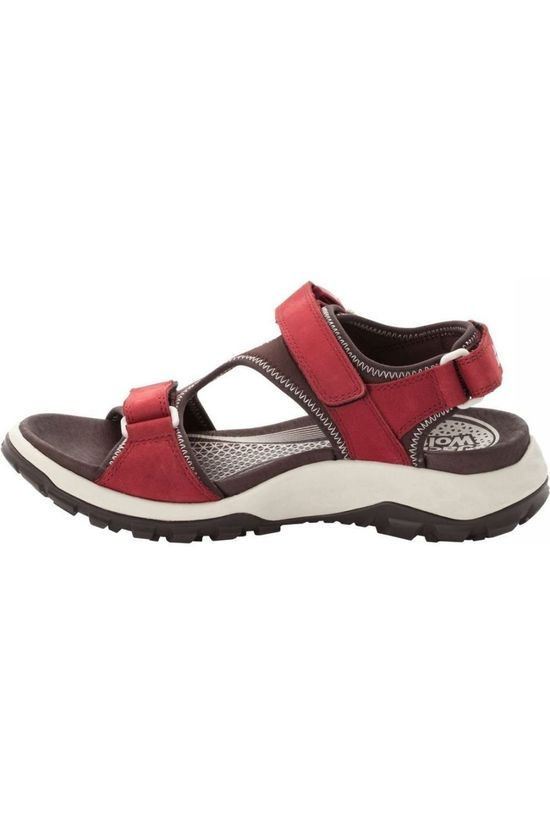 Jack Wolfskin Sandal Rocky Path Lt dark red/dark brown