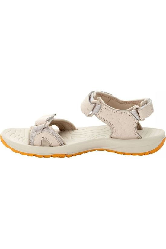 Jack Wolfskin Sandal Lakewood Cruise off white/yellow