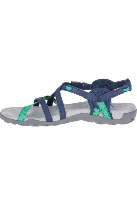 Merrell Sandaal Terran Lattice Ii Marineblauw