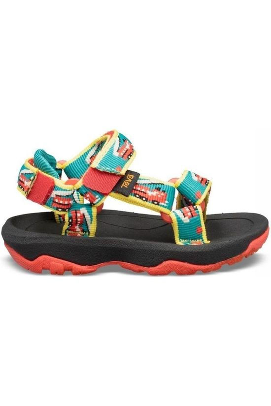 Teva Sandal Hurricane XLT 2 mid green/red