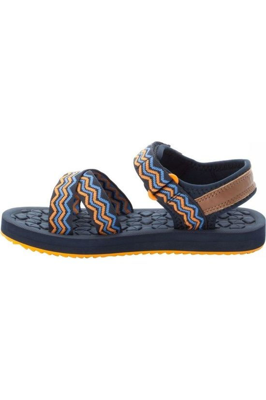 Jack Wolfskin Sandal Zulu dark blue/orange