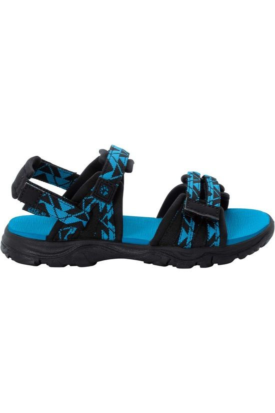 Jack Wolfskin Sandal 2 In 1 black/blue