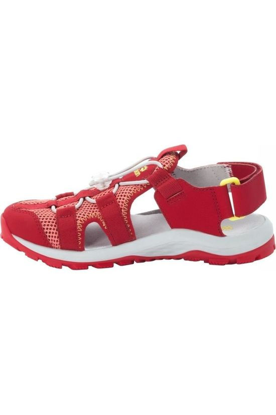 Jack Wolfskin Sandal Outdoor Action red/white
