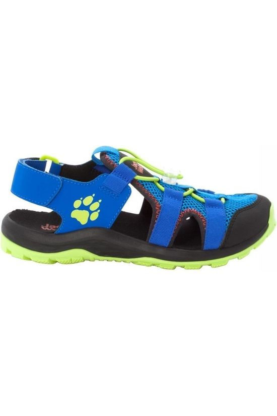 Jack Wolfskin Sandal Outdoor Action Blue/Lime Green
