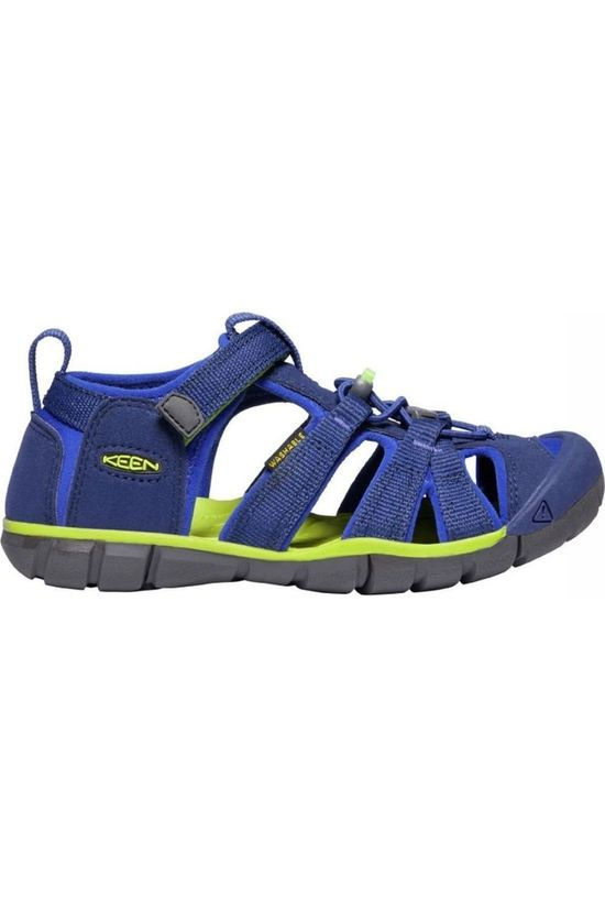 Keen Sandal Seacamp II Cnx Royal Blue/Lime Green