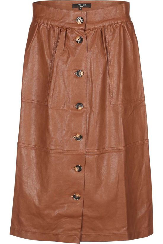 FRNCH Skirt Edanur mid brown