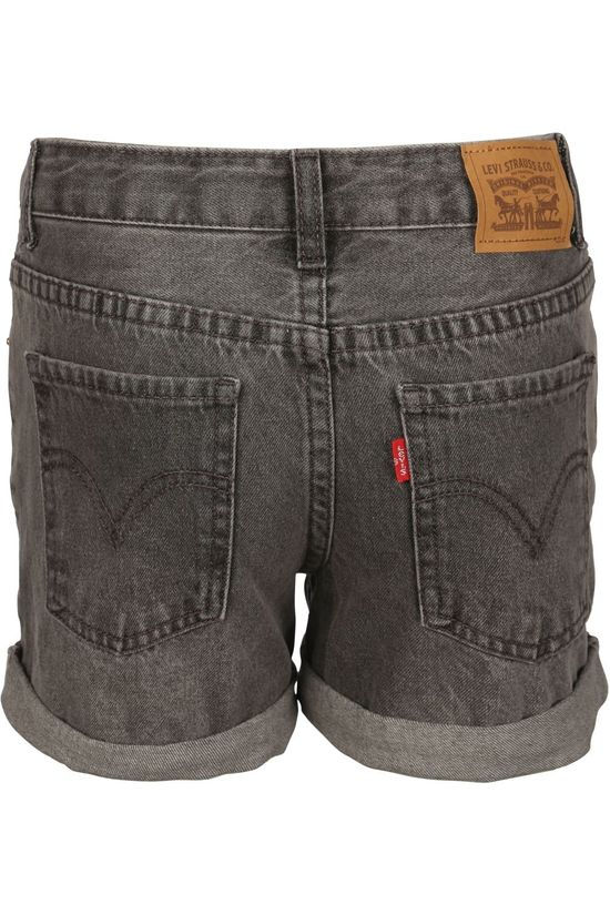 Levi's Kids Short Lvg Girlfriend y Denim / Jeans/Middengrijs