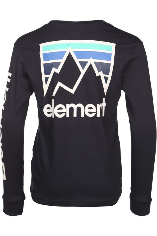 Element T-Shirt Joint Ls Boy Bleu Marin