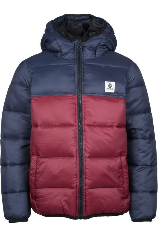 Element Coat Alder Avalanche Boy dark red