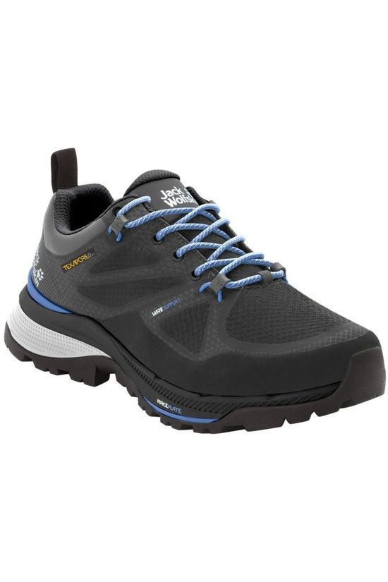 Jack Wolfskin Shoe Force Striker Texapore black/blue