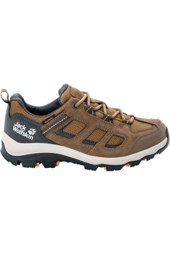 Jack Wolfskin Shoe Vojo 3 Texapore Low mid brown/light brown