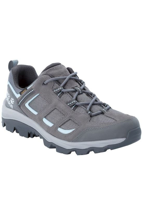 Jack Wolfskin Shoe Vojo 3 Texapore Low mid grey/light blue