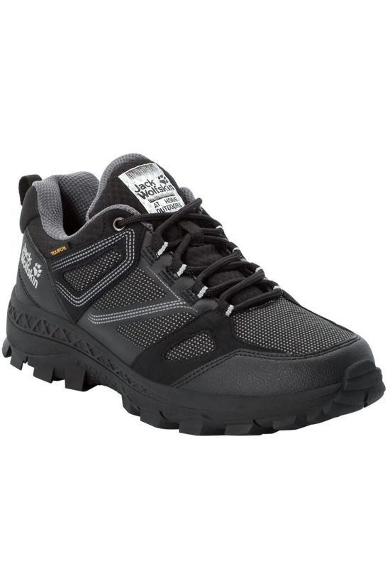 Jack Wolfskin Shoe Downhill Texapore Low black/dark grey