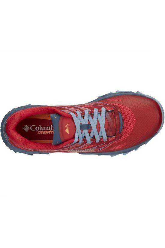 Columbia Shoe Trans Alps F.K.T. II mid red/light grey