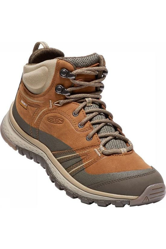 Keen Shoe Terradora Leather Mid light brown