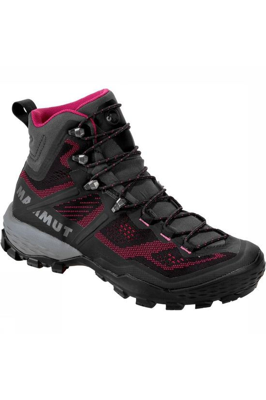 Mammut Shoe Ducan High Gore-Tex dark grey/dark pink