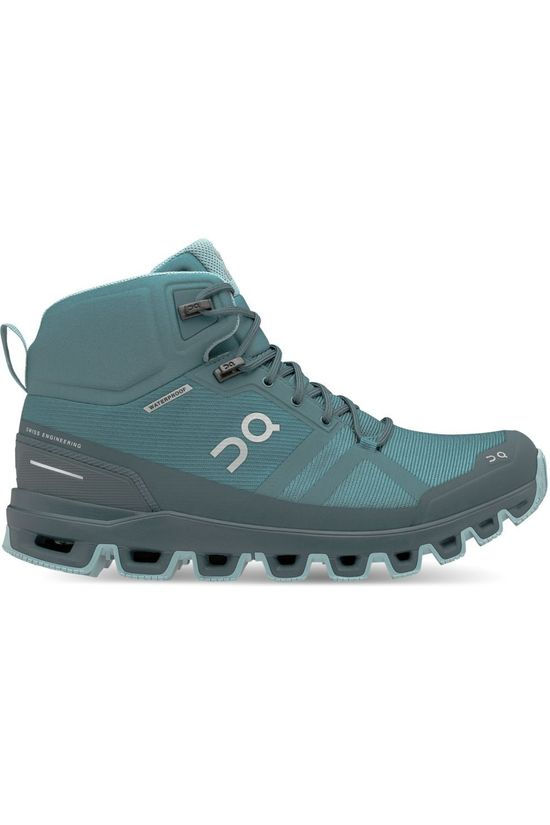 On Running Chaussure Cloudrock Waterproof Women Bleu Pétrole
