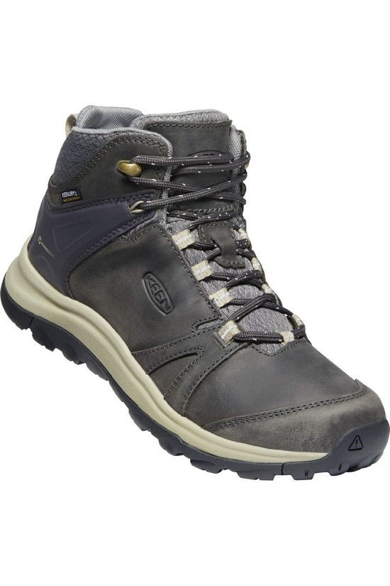 Keen Shoe Terradora II Mid Leather WP dark grey/dark blue