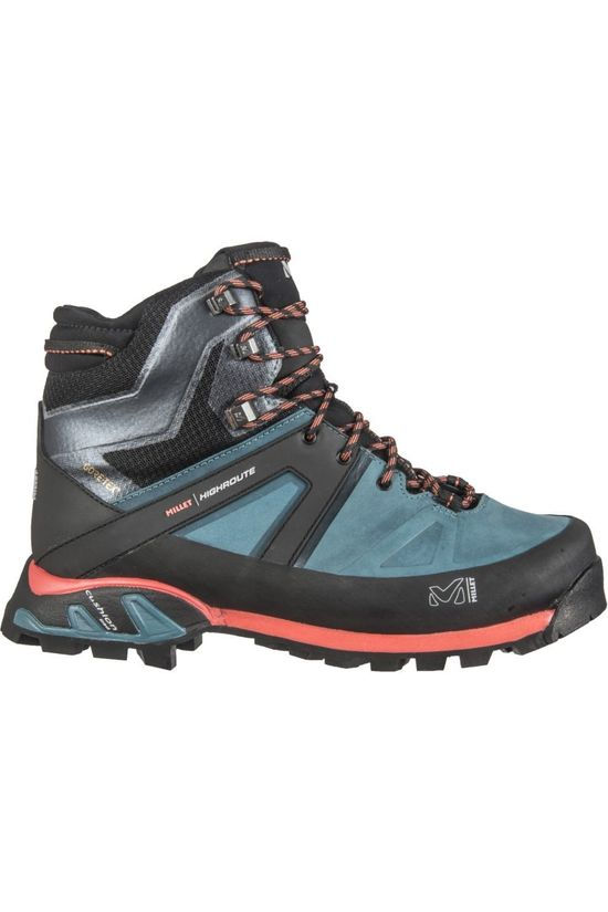 Millet Shoe High Route Gore-Tex Black/Petrol