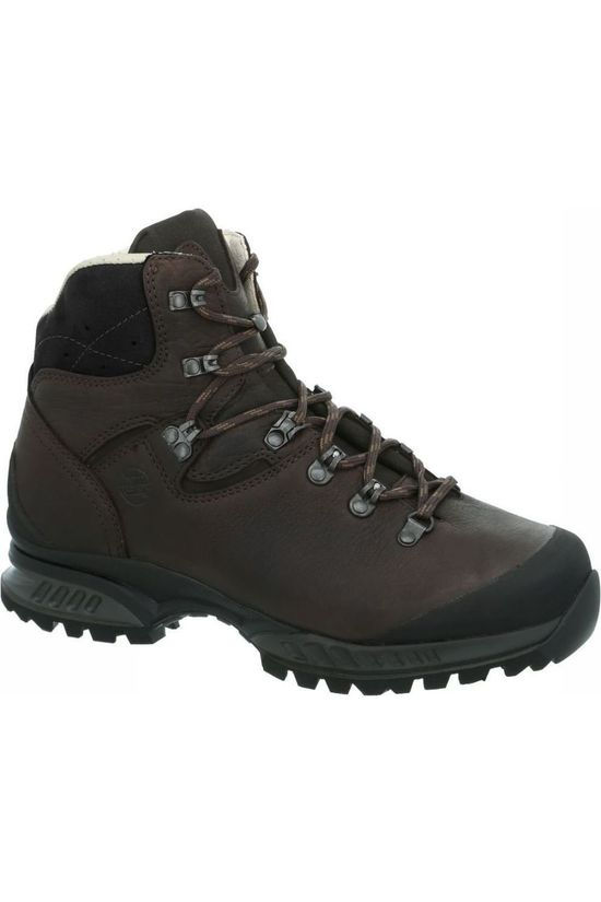 Hanwag Shoe Lhasa II Wide dark brown/dark grey