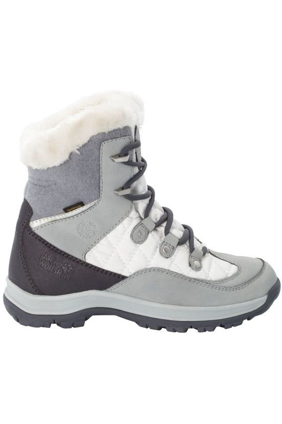 Jack Wolfskin Chaussure D'Hiver Aspen Texapore Mid Blanc/Gris Clair