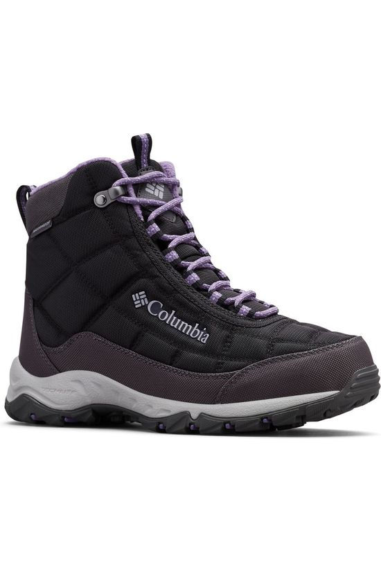 Columbia Winter Boot Firecamp Boot black/purple