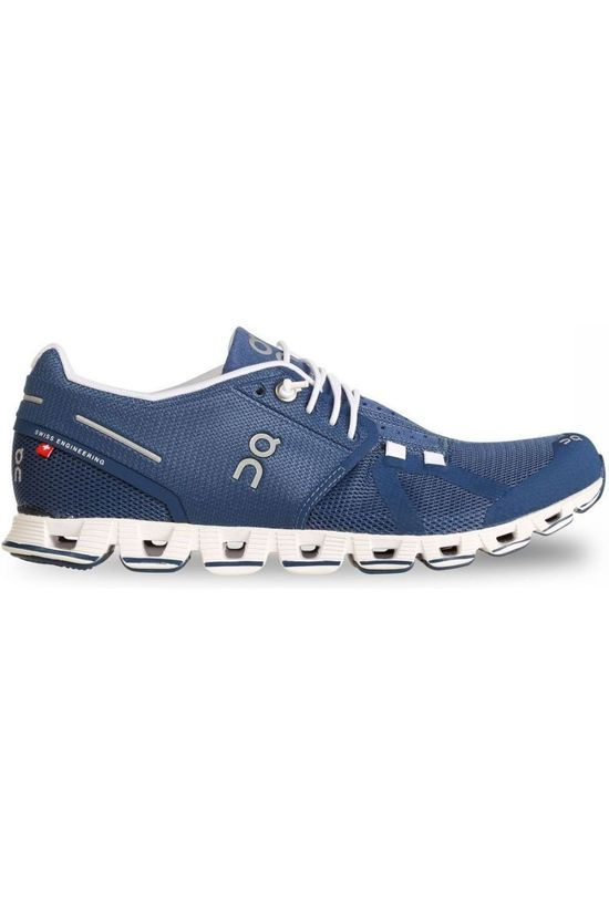 On Running Shoe Cloud Navy Blue/White