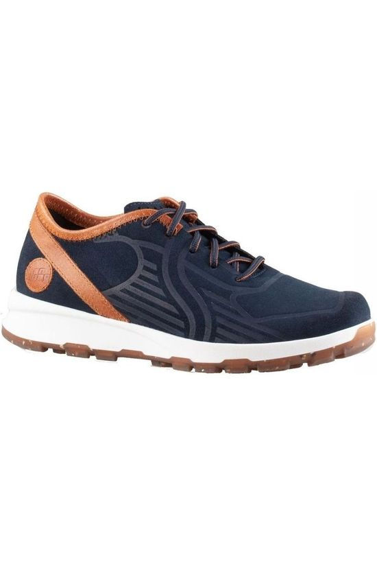 Hanwag Shoe Valpega Navy Blue/Camel Brown