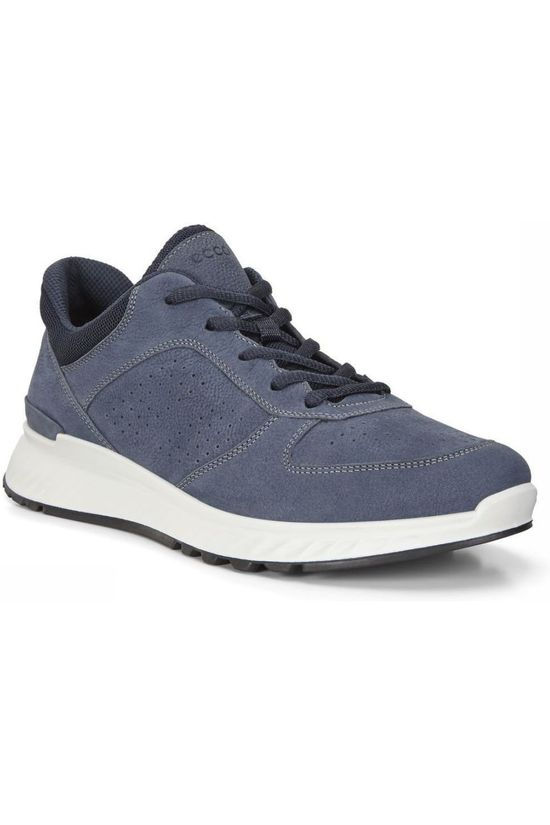 Ecco Shoe Exostride Navy Blue/White