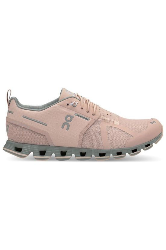 On Running Shoe Cloud Waterproof light pink/mid grey