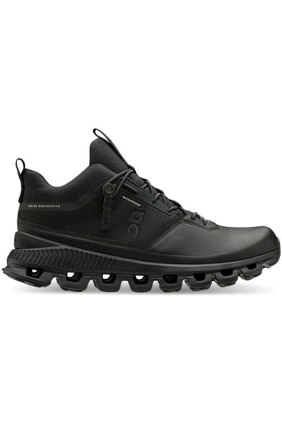 On Running Shoe Cloud Hi Waterproof Women black