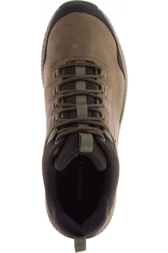Merrell Shoe Forestbound Wp mid brown