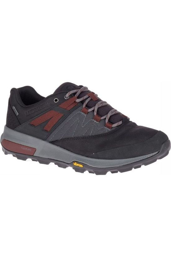 Merrell Shoe Zion Gore-Tex black/dark red