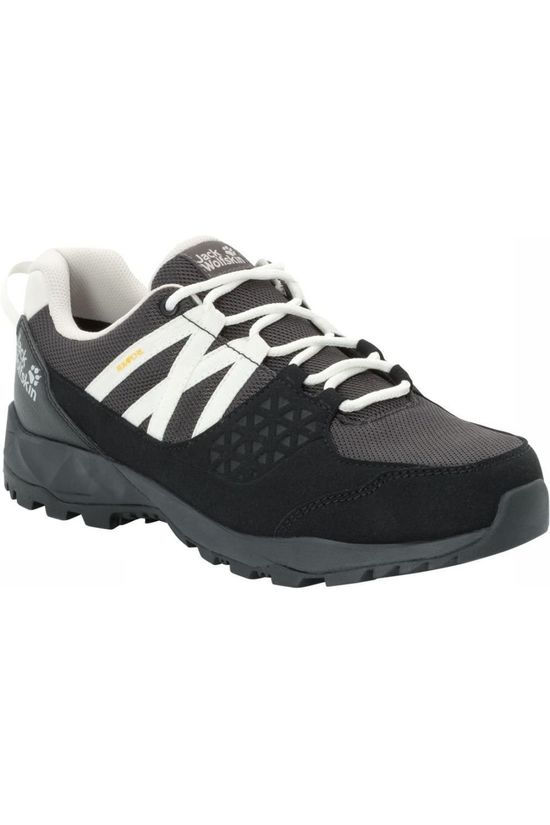 Jack Wolfskin Shoe Cascade Hike Texapore Low black/white